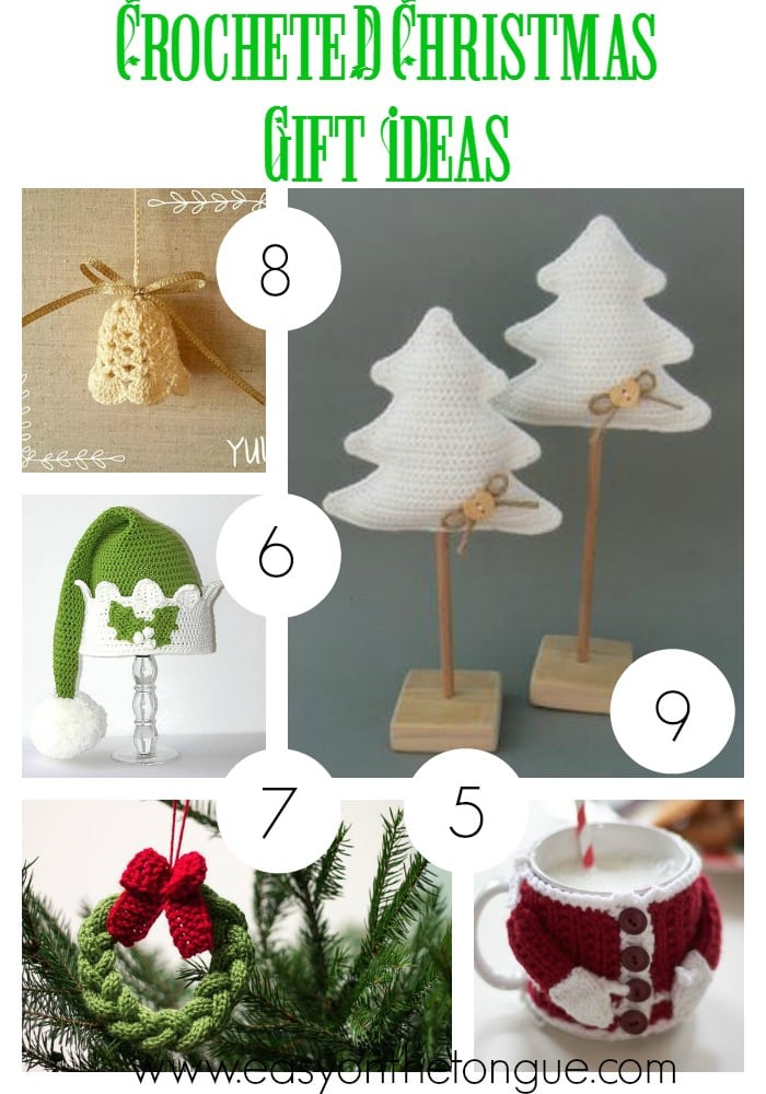 Crocheted and Knitted Christmas Gift Ideas
