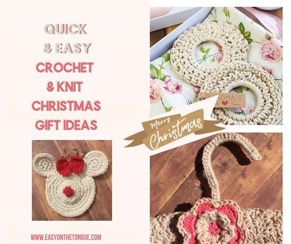 sc 1 st  Easy on the Tongue & Crochet u0026 Knitting Christmas Gift Ideas