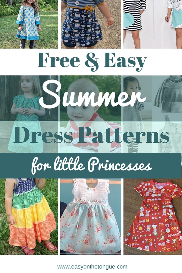 Free & Easy Summer dress patterns for little girls - a roundup