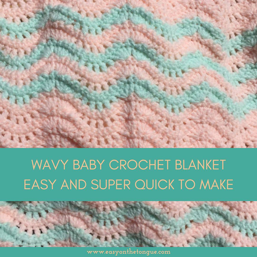 Quick And Easy Free Baby Blanket Crochet Pattern For New Arrival
