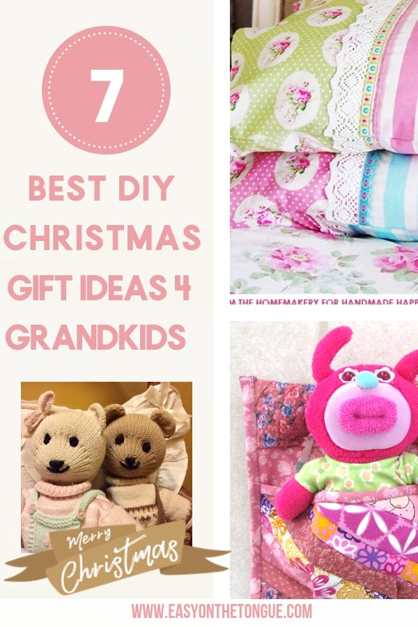 best diy christmas gift ideas for grandkids make now