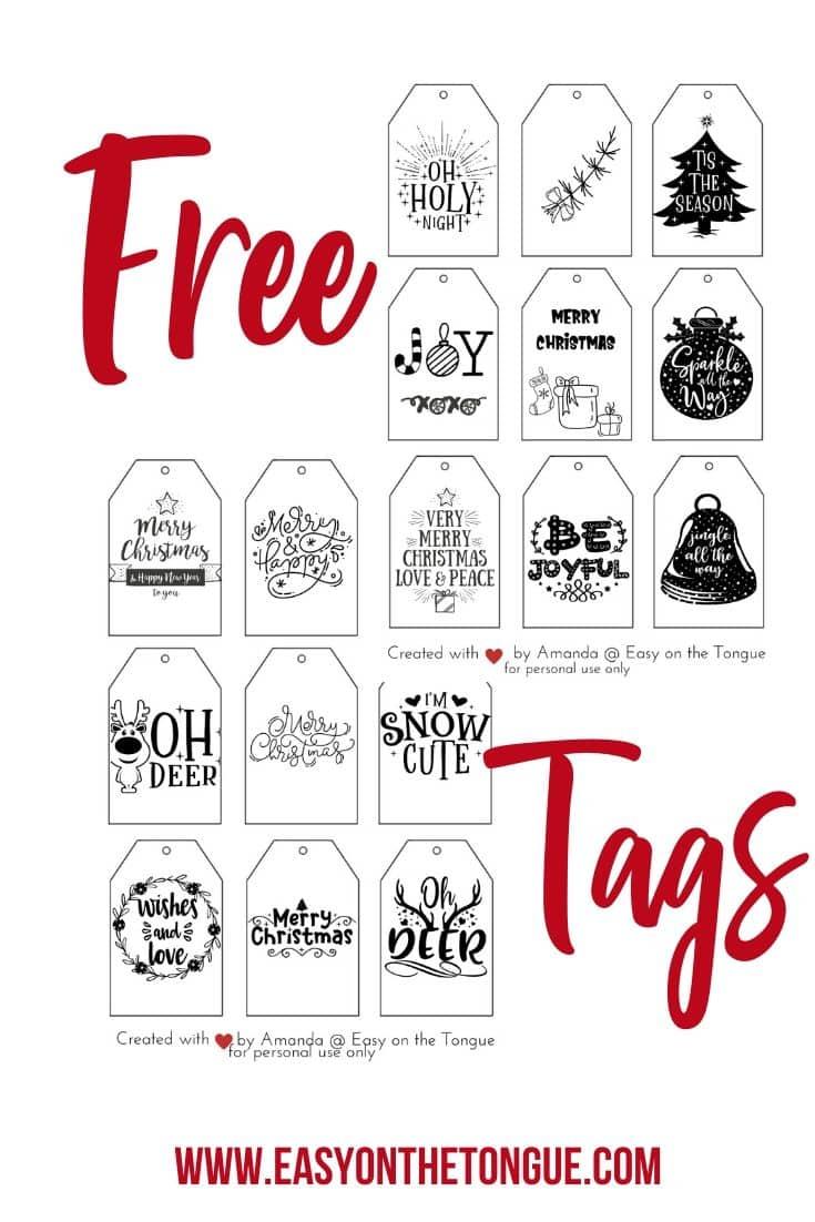 Free Christmas gift tags christmastag christmasprintables 1 Free Printable Christmas Gift Tags